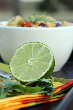 spicy quinoa lime About