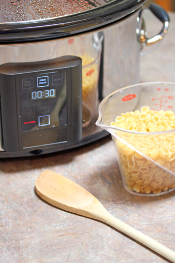 pasta to slow cooker When to Add Pasta to the Slow Cooker   One Dish Dinners Tips and Tricks