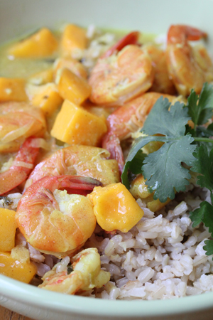 shrimp mango curry Shrimp Mango Curry